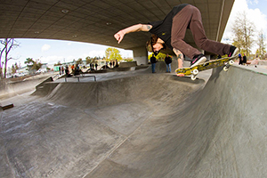 W-J Skatepark test ride